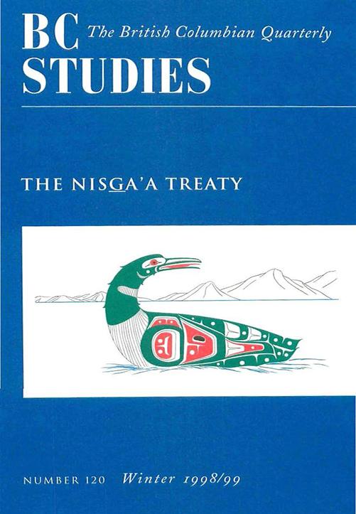 View No. 120: The Nisga'a Treaty, Winter 1998/99