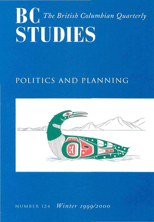 View No. 124: Politics and Planning, Winter 1999/2000