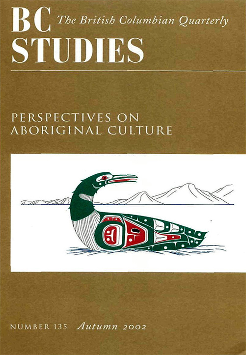 View No. 135: Perspectives on Aboriginal Culture, Autumn 2002
