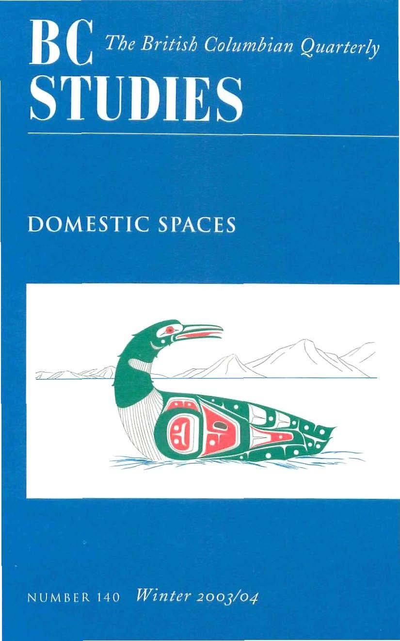 View No. 140: Domestic Spaces, Winter 2003/04