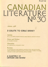View No. 30 (1966): A Salute to Earle Birney