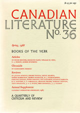 View No. 36 (1968): Books of the Year