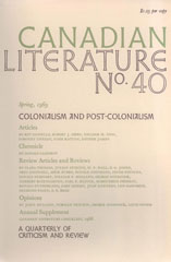 View No. 40 (1969): Colonialism and Post-Colonialism