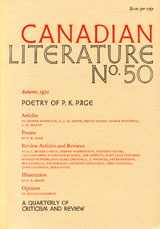 View No. 50 (1971): Poetry of P.K. Page