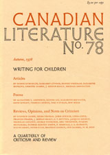 View No. 78 (1978): Writing for Children