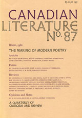 View No. 87 (1980): The Making of Modern Poetry