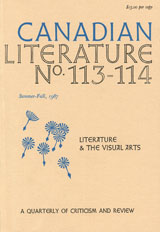 View No. 113-114 (1987): Literature & the Visual Arts