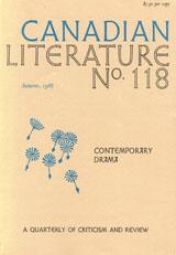 View No. 118 (1988): Contemporary Drama
