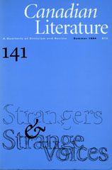 View No. 141 (1994): Strangers & Strange Voices