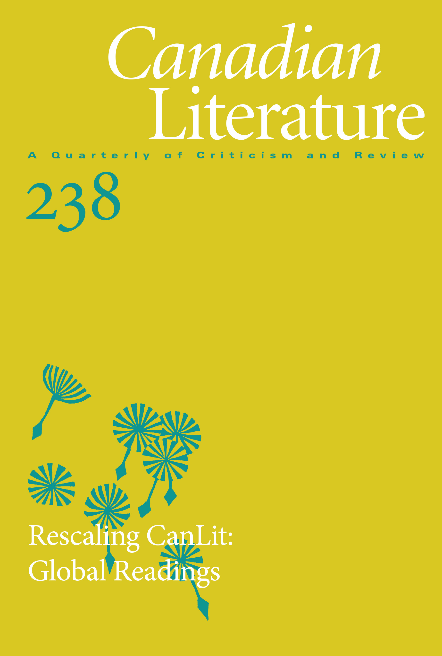 View No. 238 (2019): Rescaling CanLit: Global Readings