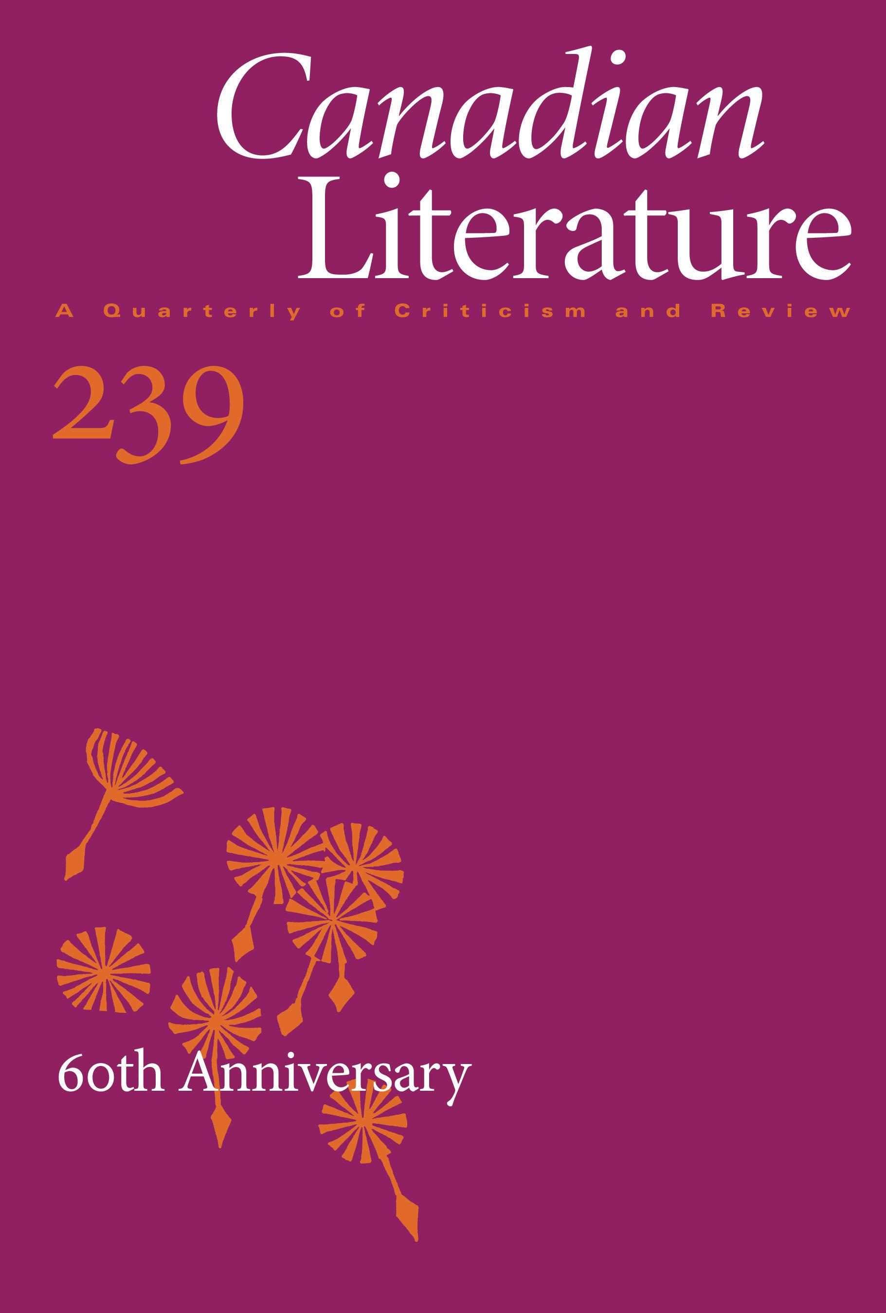 View No. 239 (2020): 60th Anniversary