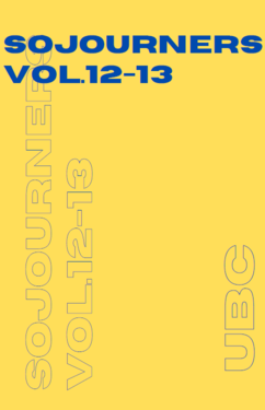 View Vol. 12 No. 1 (2021): Sojourners Volume 12-13