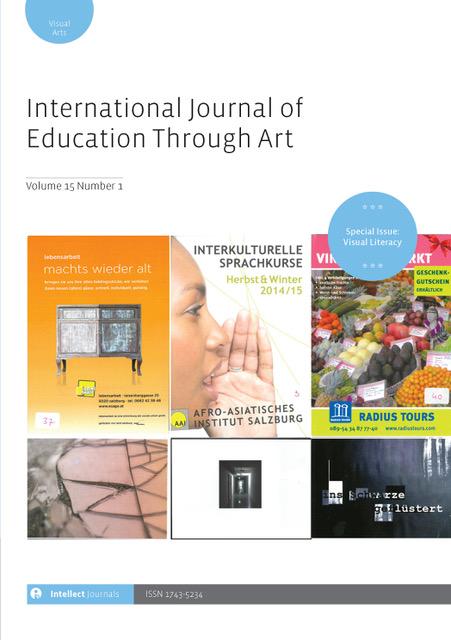 View Vol. 15 No. 1 (2019): International Journal of Education Through Art