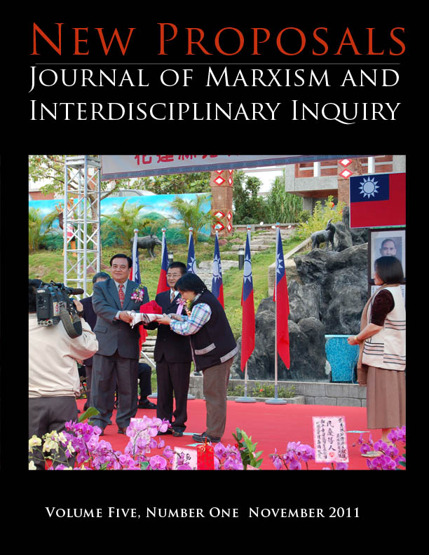 View Vol. 5 No. 1 (2011): Capitalism and Indigenous Peoples